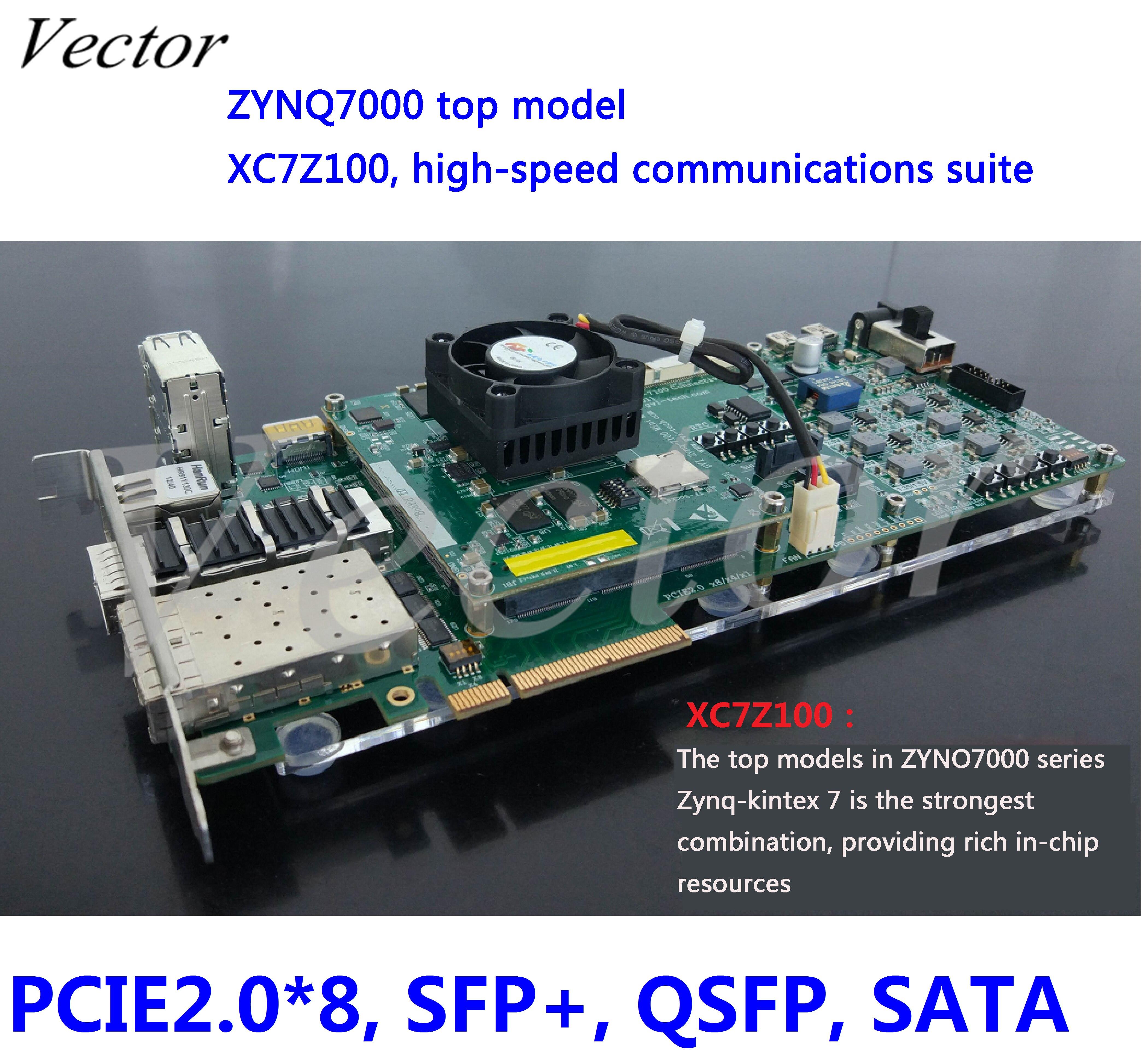 ZYNQ7000 core board ,ZYNQ,Kintex-7 development board, XC7Z100,Sata, PCIe, 10G ethernet network(China)