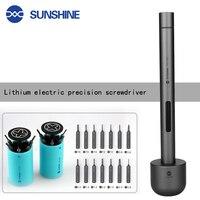 Sunshine SD 18E MINI Electric Power Screwdriver Repair Mobile Phone Repair Teardown Tool Plum For Ipad Mobile Camera Sd 18e