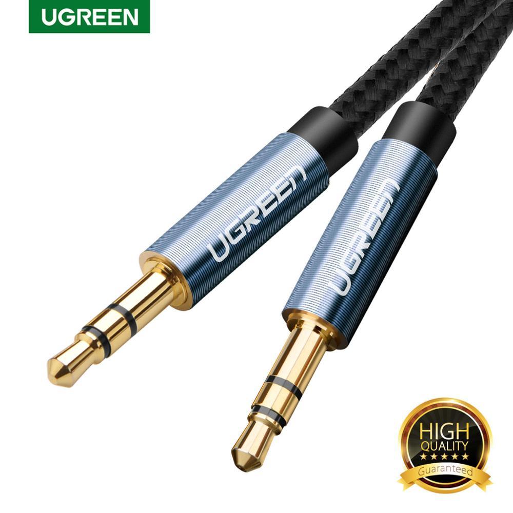 Ugreen 3,5mm Jack Audio Kabel Stecker-stecker Lautsprecher Linie Aux Kabel für iPhone Samsung S10 Auto Kopfhörer MP3/4 Aux Kabel 3,5mm