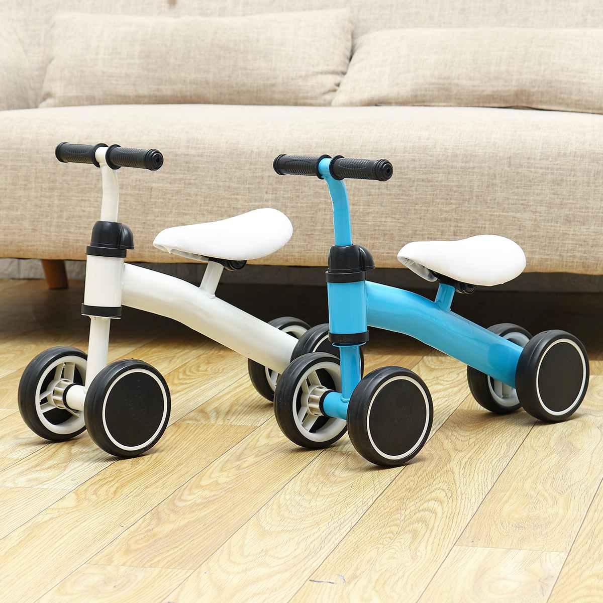 Bebek çocuk scooter'ı üç tekerlekli bisiklet 3-in-1 çocuk Scooter denge bisikleti Toddler binmek araba 3 tekerlekler denge bisiklet ayarlanabilir