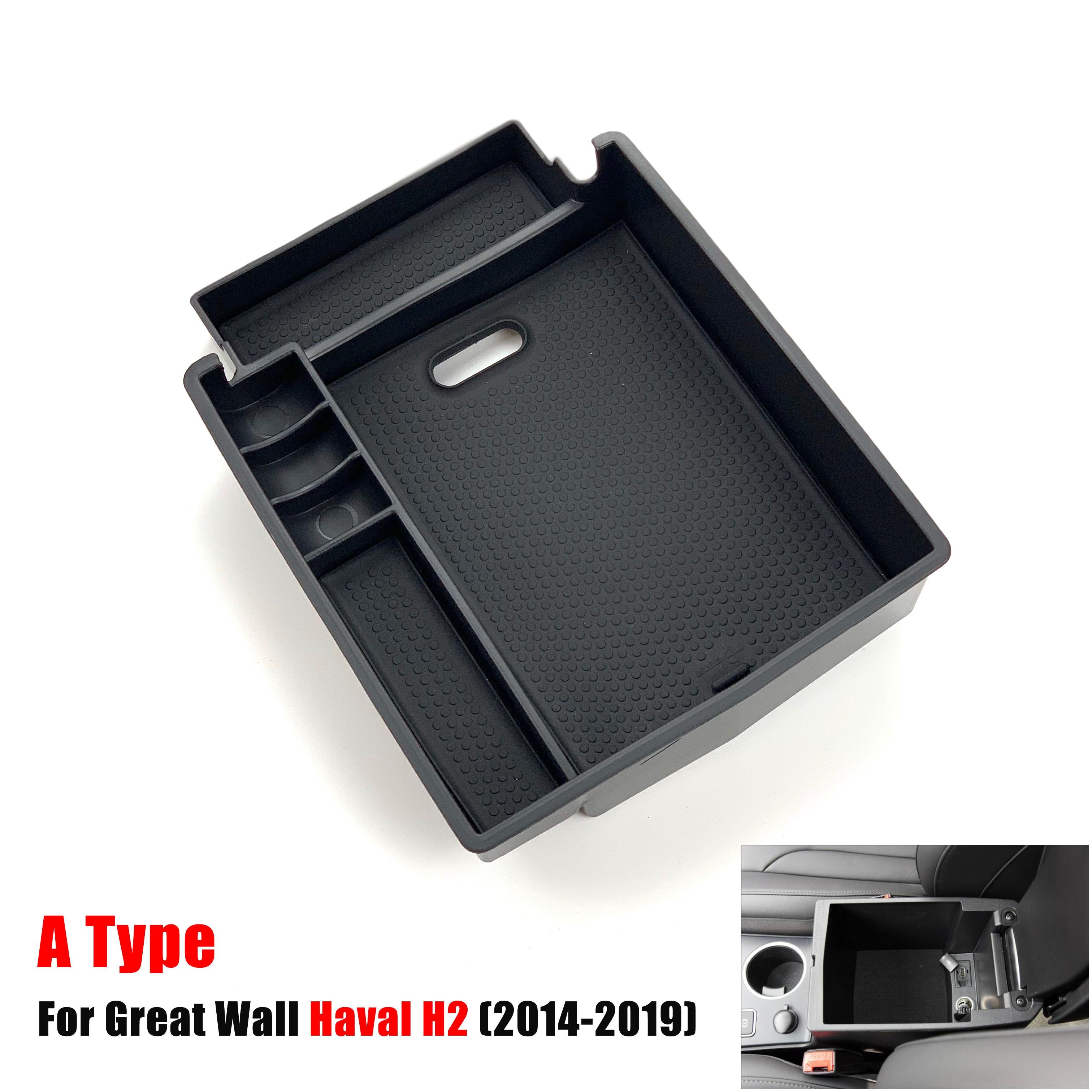 Автомобильный подлокотник, коробка для хранения для Great Wall Haval H2 H6 H7 H7L H9, контейнер-органайзер для хранения центральной консоли, автомобильн...