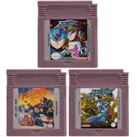 Nintendo gbc megaaman 시리즈 영어 버전 용 16 비트 비디오 게임 카트리지 콘솔 카드