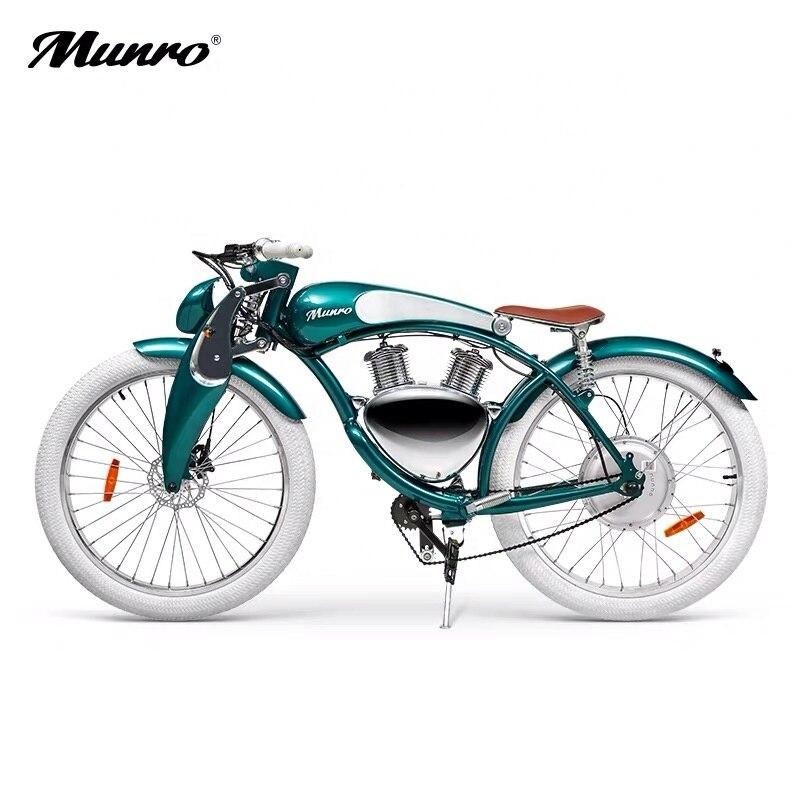 Модель Monroe 2,0 года, велосипед с удовольствием ходьбы, колеса 26 дюймов, электрический велосипед с толстыми шинами, электровелосипед 48 В, элект...