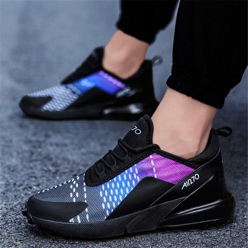 Мужская повседневная обувь 2019 брендовые удобные дышащие кроссовки с амортизацией для мужчин и женщин обувь осень 270 Сникеры на воздушной по...