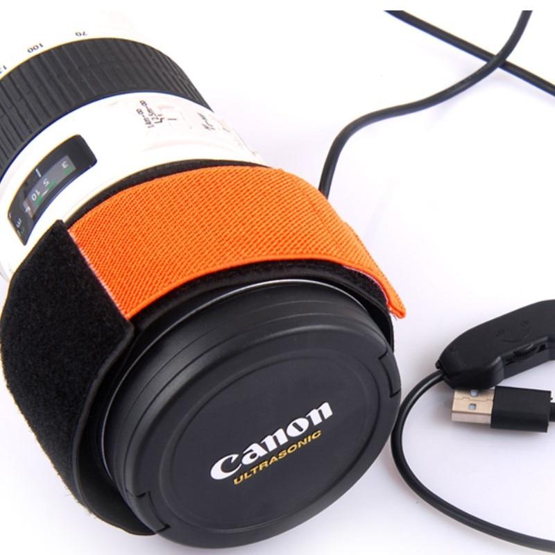 5V Telescopes Camera DSLR Lens Dew Heater Strip Linear Temperature Control Dew Heater