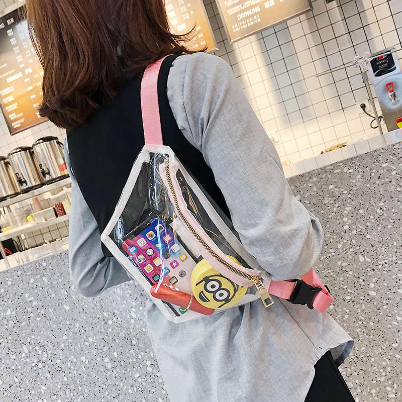 Tinyat korean waist bag women fanny bag girl fashion beltbag pink fanni bag PINK WAIST BAG fanny pack for women belt bag women