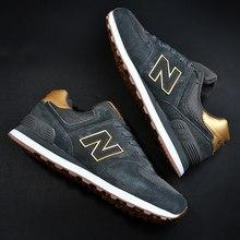 2021 nouveau classique rétro en cuir respirant anti-dérapant chaussures décontractées couple chaussures de course chaussures de course taille 35-46