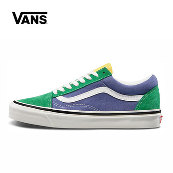 Authentic Vans Old Skool 36 Skateboarding Shoes Sneakers Canvas Shoes,Hot Sales VANS Off The Wall Men/Women Sports Shoes vans authentic grey canvas mens trainers