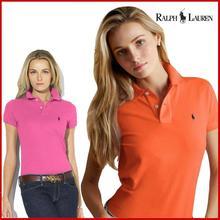 Tops Shirts POLO Women Short-Sleeve Casual Fashion Solid Summer Brand Cotton Turn-Down-Collar