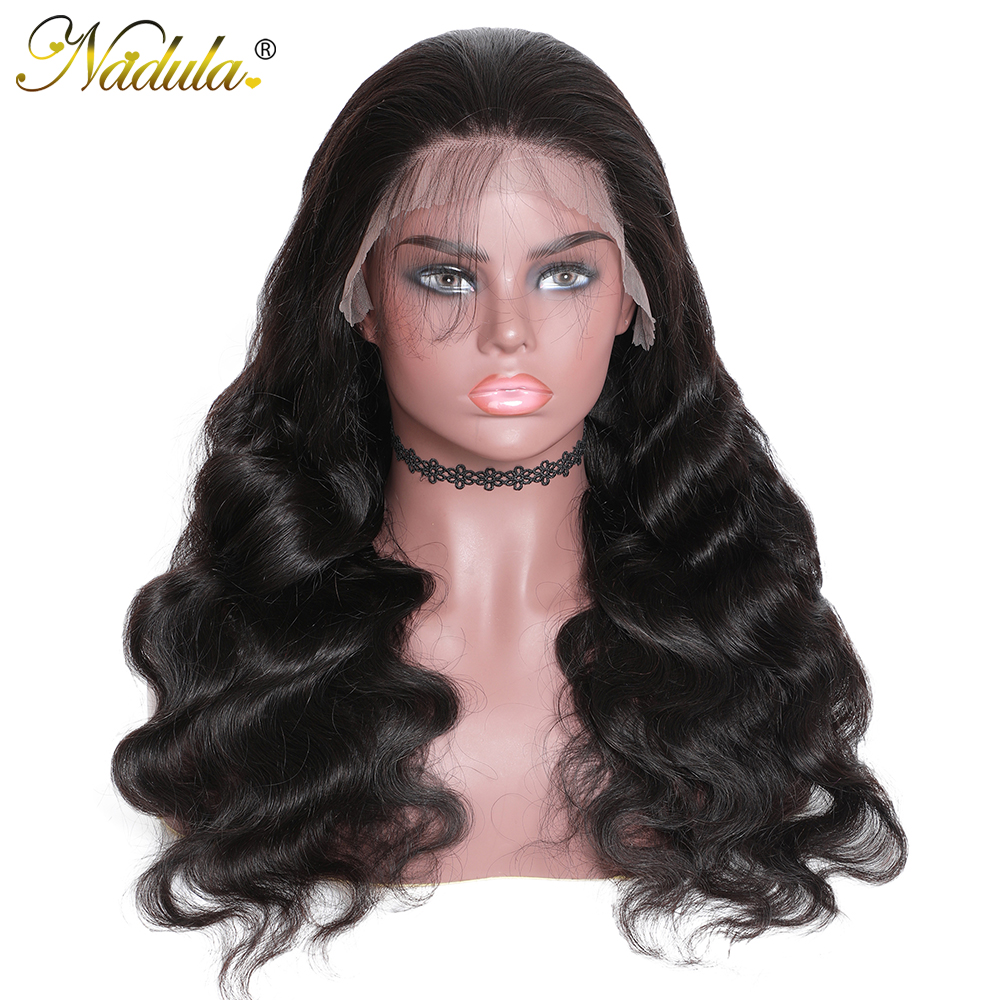 Nadula Transparent Lace Wig 13x4/13x6 Lace Front Wigs Brazilian Body Wave Remy Hair Lace Wigs PrePlucked Hairline With Baby Hair