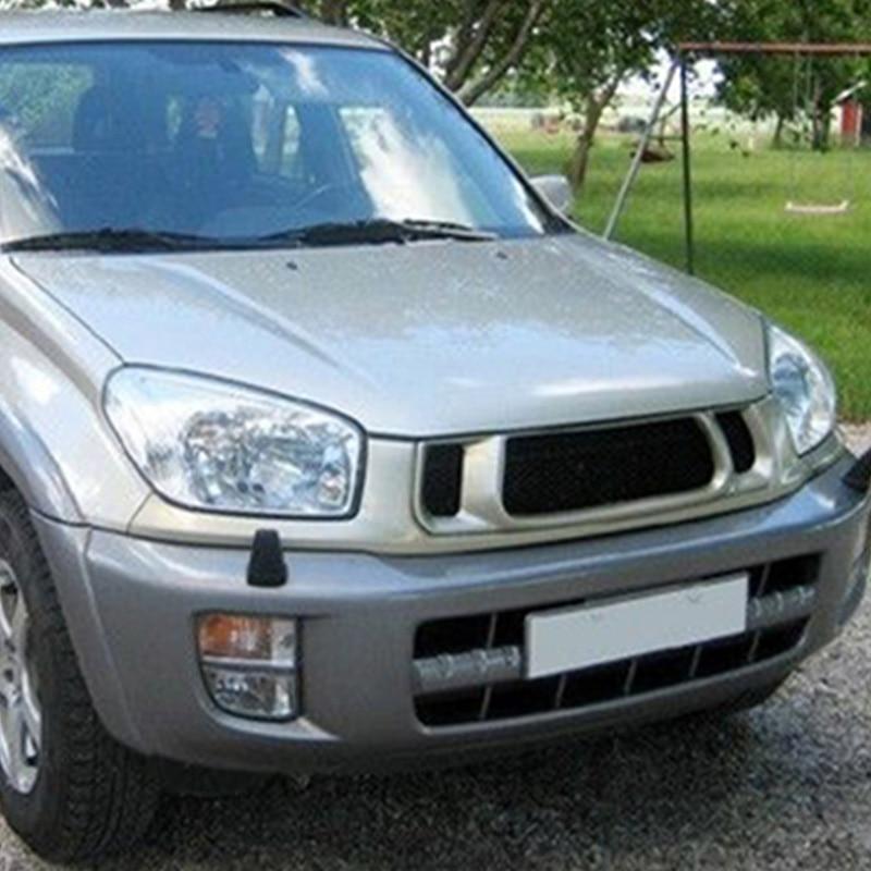 Chrome Rear Taillight Covers Molding Trims For 2001-2003 Toyota RAV4 SUV