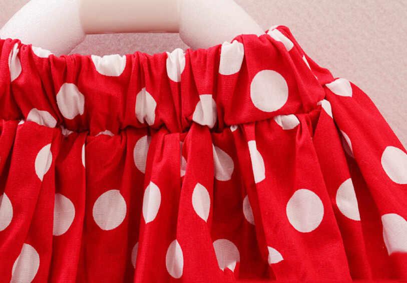 1-5Y Kinderkleding Zomer Meisjes Kleding Mouse Cartoon Meisje Set Kinderen Baby Meisje Kleding 2 Stuks Vest Tops + Kant tutu Mini Rok