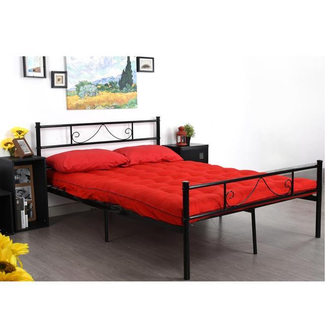 Metal Frame Twin/Full Platform Bed  2