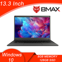 Bmax S13A Newest Gaming Laptop Intel 9th Gen LPHD Graphics 500 Computer Notebook 8GB RAM 128GB SSD 13.3'' 1920*1080 IPS Display