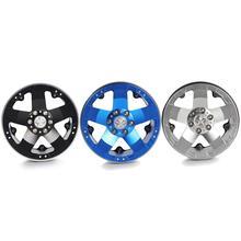 цены 2019 4pcs Aluminum Alloy 202 Wheels Rims 1/10 RC Crawler Axial SCX10 II 90046 for Traxxas TRX4 D90 Blue Black Toys for children