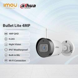 Dahua imou Waterproof Bullet Lite 4MP Built-in Microphone Alarm Notification 30M Night Vision Video Surveillance Wifi IP Camera