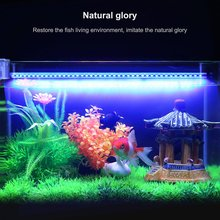 LED Aquarium Submersible Lamp Aquarium Fish Tank Plant DC 12V LED Light Waterproof IP68 Bar Lamp Fish Tank Light 12 pcs lot aquarium fish tank bar waterproof submersible 10 led tea light vase light remote control led light