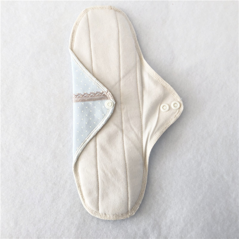 1pcs Cotton Pad Reusable Sanitary Menstrual Pad Reusable Cotton Cloth Towel Pads Feminine Hygiene Panty Liner Diaper Panty Pads