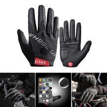 Cycling Gloves Touch Screen MTB Bike Gloves Sport Shockproof Full Finger Reflective  spring summer autumn Bicycle Glove For Bike coolchange winter cycling gloves touch screen gel bike gloves sport shockproof mtb road full finger bicycle glove for men woman