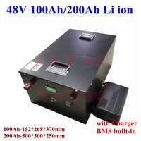 GTK, de 48V batería de litio, 100Ah y 200Ah para inversores de 18kw y 10kW, paneles solares, montacargas y cargador de Telecomunicaciones