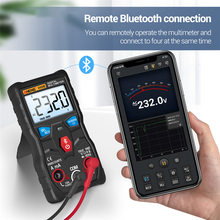 V05B APP Digital Meter Electric Portable True RMS Bluetooth Multimeter Auto Ranging Strong Toughness AC/DC Tester