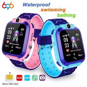 696 Z5S Kids Smart Watch IPX7