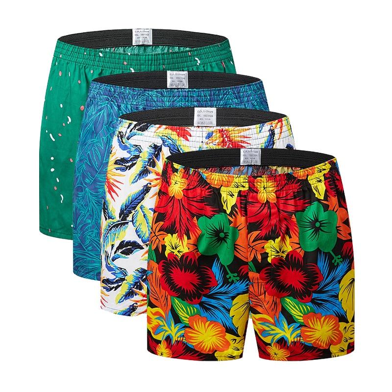Uomo Classico delle Nozioni di Base Nuovo di Alta Qualità 100% di Sonno Del Cotone Shorts Uomini Casual Pantaloni Allentati di Estate Leisur Plaid Casa Biancheria Intima