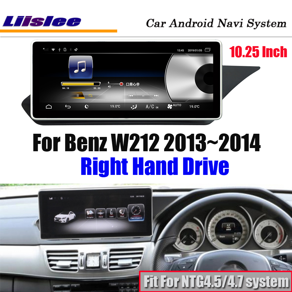 Car <font><b>Android</b></font> Multimedia Player For <font><b>Benz</b></font> <font><b>W212</b></font> RHD Right Hand Drive 2013~2014 Stereo Radio Screen GPS Navigation Media System image