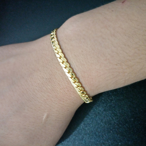 Gold Silver Color Chain Bracel