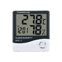 HTC-1 Indoor and Outdoor Digital Thermometer Electronic Clock