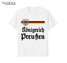 In Summer of 2019 Pop Man Tee Kingdom Prussia Cheer Jersey Germany Footballer Soccers Koenigreich Preussen Movie T Shirt