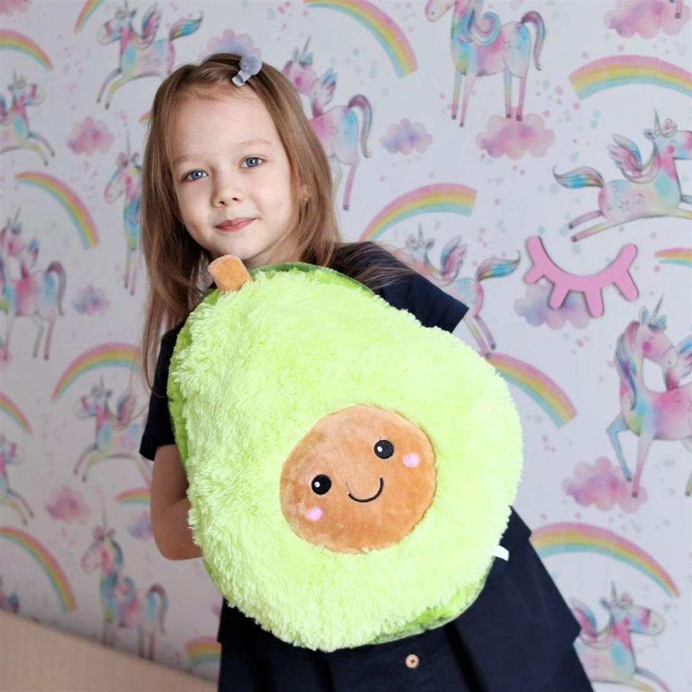 20/30/40cm Soft Cartoon Doll Comfort Food Avocado Plush Fruit Plush Plant Toy Cartoon Doll Pillow Kids Gift Stuffed Warm Doll