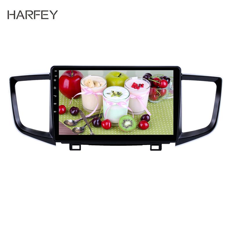 Harfey Autoradio-Player Android 8.1 HD Touch Screen Built-in <font><b>GPS</b></font> Car Multimedia Player <font><b>for</b></font> 2016-2018 <font><b>Honda</b></font> <font><b>Pilot</b></font> Support Mirror image