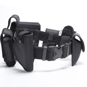 Waist-Belt Tactical-Bags Security-Guard Multi-Functional Cs-Police Duty Nylon Training