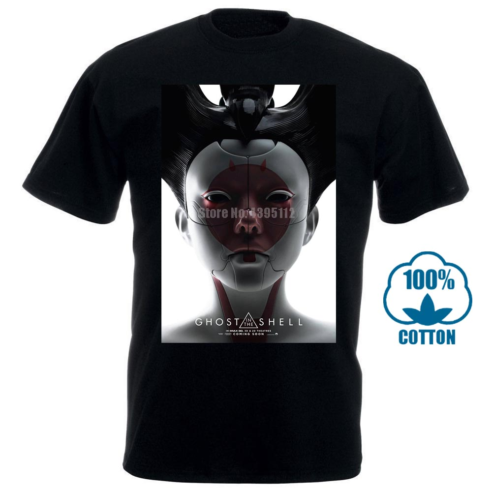 Ghost In The Shell Robo Geisha Sci Fi Cult Movie T Shirt image