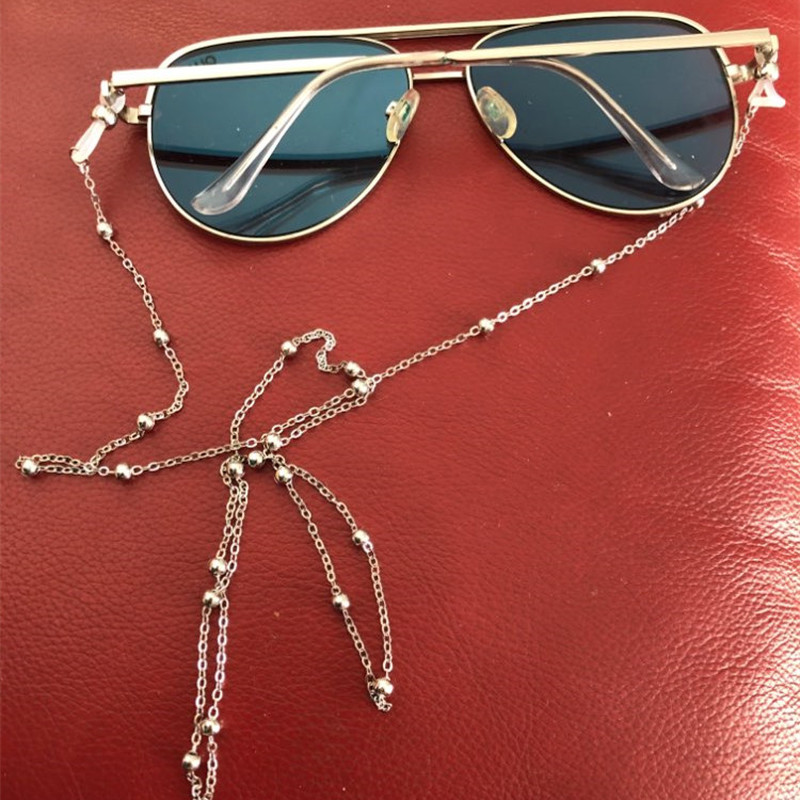 Eyeglass Chains Rope Cord-Holder Eyewears Neck-Strap Reading Fashion Chic Silver Gold