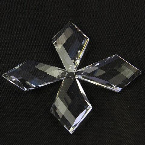 forma laco de vidro barra pendurado acessorios