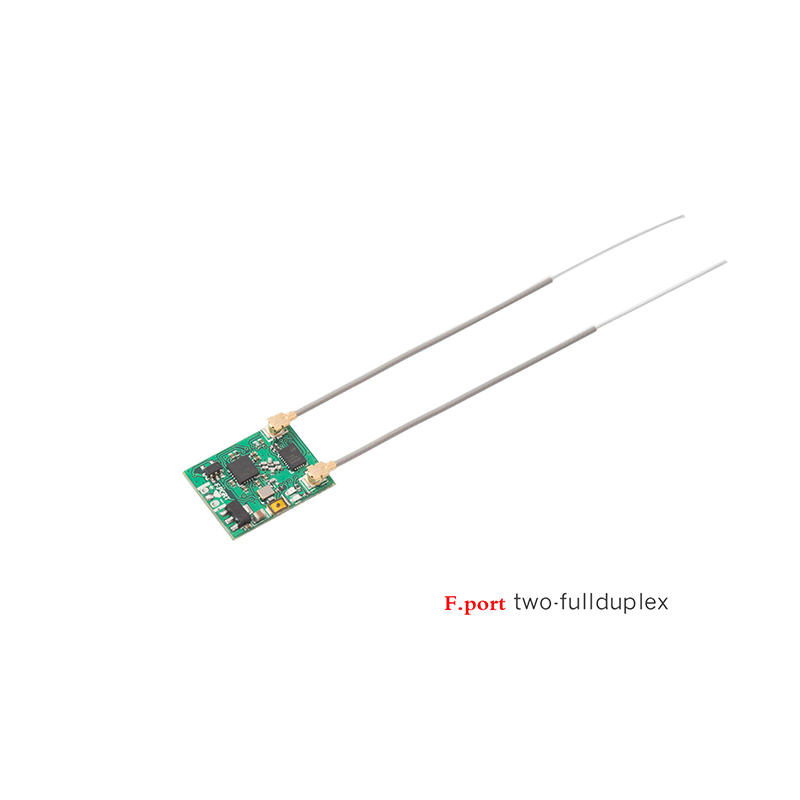 Jumper T8 T12 T16 Series Frsky D16 Radio R1F F.port Receiver two-way full duplex Support T16 Pro V2(China)