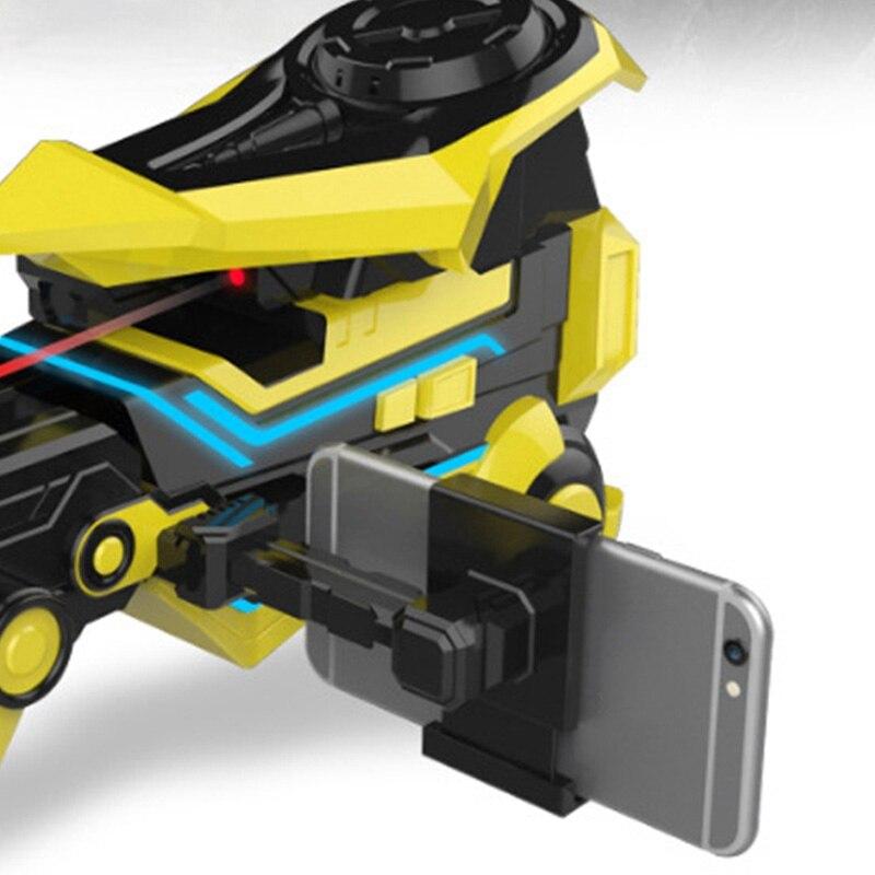 Deformación inteligente juguete eléctrico ráfaga juguete para niños brazo Robot - 5