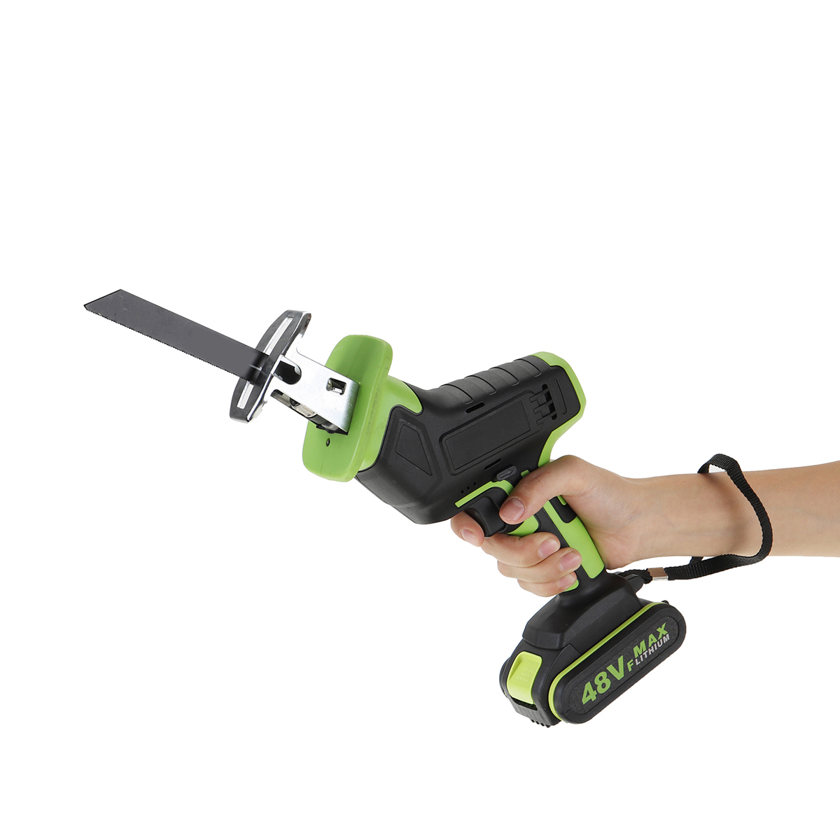 Wood Drillpro With Woodworking 4 Cordless 2 Cutters Metal Saw Saw Cutting  Batterys  1 Blades 48V Reciprocating Portable Tool