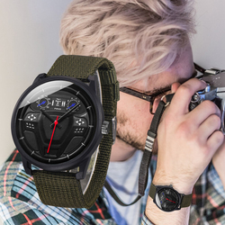 Men Watches Unique Car Drive Design Casual SOKI Brand Quartz Casual Leather Strap Clock Ultra Thin Gift Business WristWatch