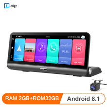 Car-Dvr Gps Navigation Dash-Camera Adas Android 8inch Auto-Recorder Wifi 4G FHD 2 32GB