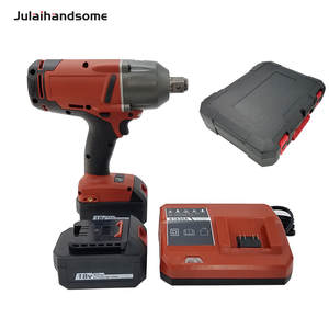 Julaihandsome 18V Brushless Li-ion Impact Wrench 34 High Torque Impact Wrench with Friction Ring