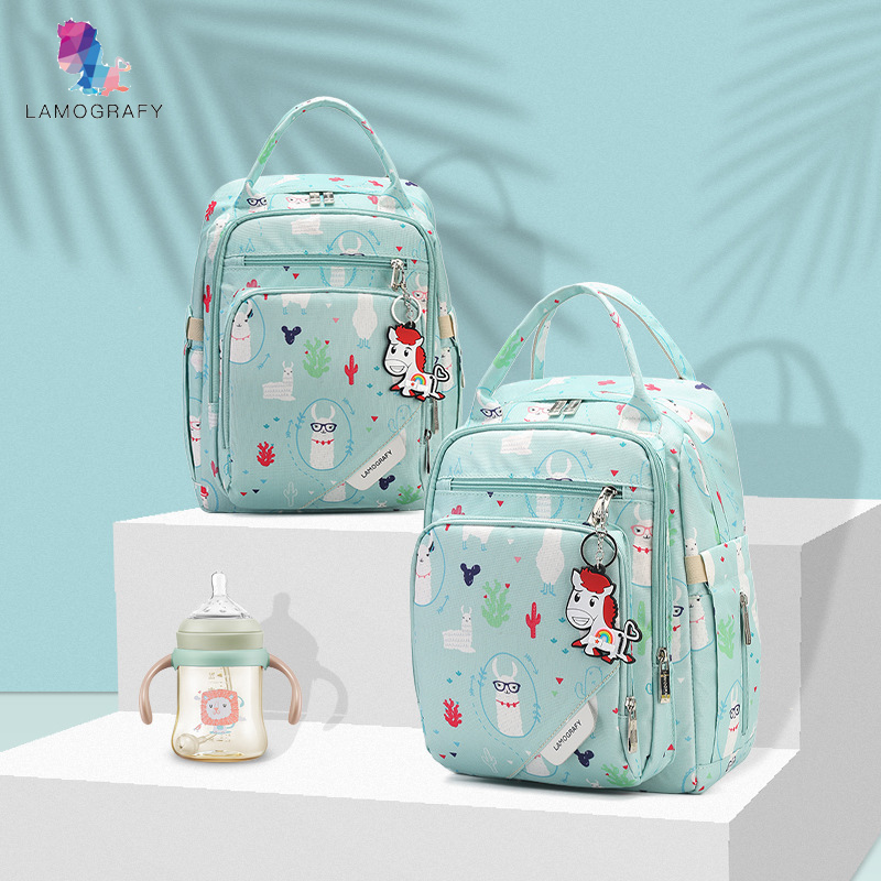 Nylon Baby Diaper Bag Backpack For Mom Nappy Changing Maternity Organizer Travel Mommy Nursing Wetbag Stroller Accessories