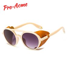 Pro Acme 2019 Cool Fashion Steampunk Round Sunglasses Men Wo