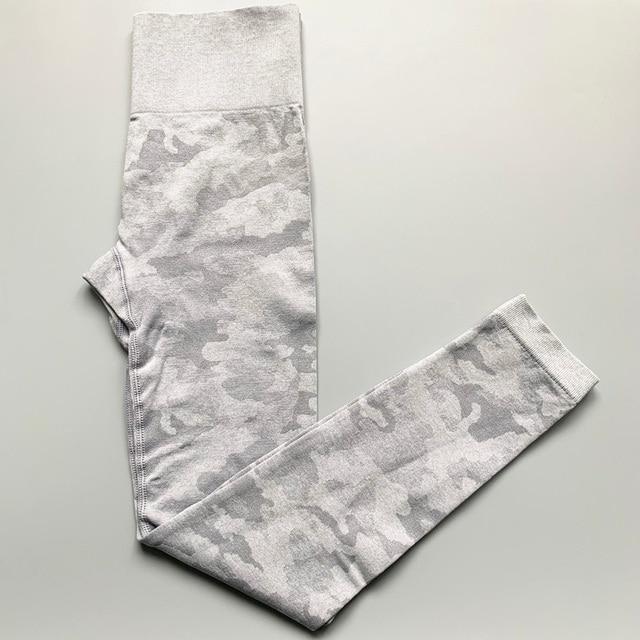 Nepoagym Women 2nd Edition Camo Seamless Leggings High Waist Booty Leggings Scrunch Leggings Yoga Pants Compression Pants Women 3