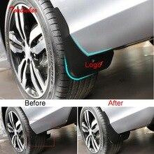 Tonlinker חיצוני רכב ארבעה גלגלים מגני בץ כיסוי מדבקה עבור פיג ו 2008 2020 רכב סטיילינג 4 PCS ABS פלסטיק כיסוי מדבקות