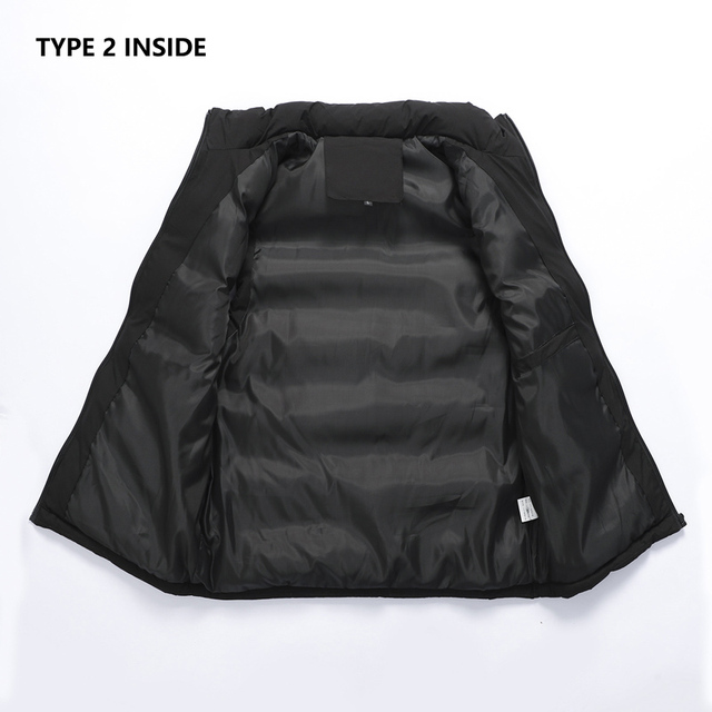 Mens Vest Jacket Men New Autumn Warm Sleeveless Jackets Male Winter Casual Waistcoat Vest Plus Size Veste Homme Brand Clothing 5