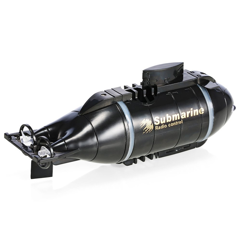 Купить с кэшбэком 4CH Radio Remote Control Submarine Mini Model Boat Powerful RC Water Toy Waterproof Quality Protection Surfboard Marine Sailboat