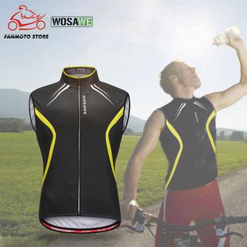 2020 New Arrival motocyklowe kamizelki koszulka rowerowa top bez rękawów kamizelka rowerowa mężczyźni kobiety odzież rowerowa oddychająca kamizelka motocyklowa tanie i dobre opinie
